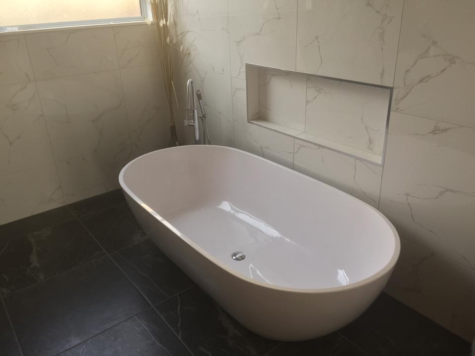 Completed Bathroom Work