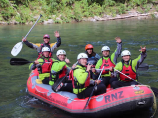 Team Building - White water rafting