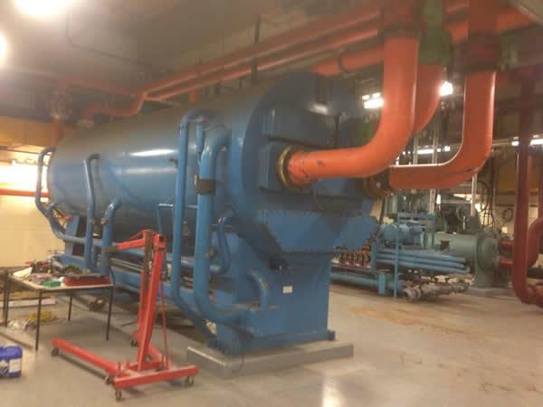 Commercial plumbing industrial work